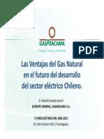 Las Ventajas Del GAS Natural en El Futuro Del Desarrollo Del Sector Eléctrico Chileno