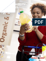 Delhaize Sustainability Progress Report 2015