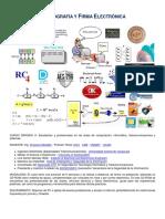 Criptografia y Firma Electronica