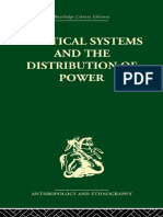Michael Banton Political Systems and the Distribution of Power