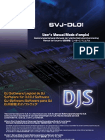 Svj-dl01 Software Manual en Fr de Nl It Es Cn