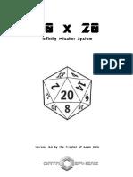 20x20 Version 3.0 Infinity