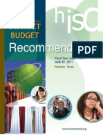 Houston Independent School District's 2010-2011 Recommended Budget Presentation