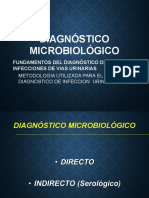 DIAGNOSTICO MICROBIOLOGICO