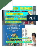 1- Currículo Nacional Bolivariano