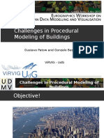 Challenges in Proc Modelling of Buildings