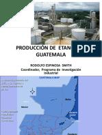 Produccion de Etanol en Guatemala