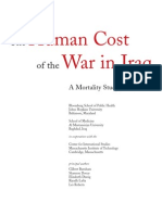 The Human Cost of the War in Iraq