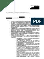 Comisión de peticiones del parlamento gallego