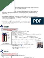 Pilas, Baterias y Obtencion de Metales