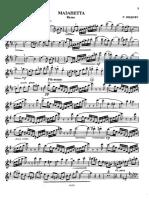 Rudy Wiedoeft - Mazanetta Waltz (Alto Saxophone & Piano)