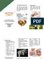 Leaflet Pola Hidup Sehat
