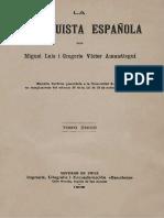 Amunategui, Miguel Luis - La Reconquista Española