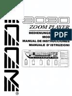 Manual Zoom 3030