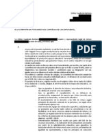 Comisión de peticiones del Congreso de los diputados