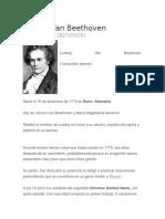 Ludwig Van Beethove1 Breve y Obras