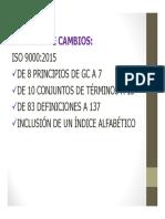 Resumen Cambios Norma 9001 14001 2015.