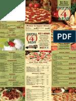 Pizza 4 Less (Fairbanks, AK) Menu