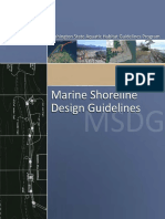 Marine Shoreline Design Guidelines