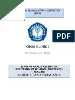 Rps d3 Kimia Klinik i