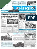 Edición Impresa Elsiglo 21-12-2016