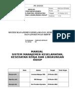 Contoh Manual SMK3-1