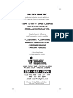 Valley Iron Weightbook
