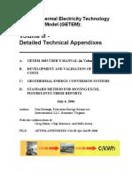 Getem Vol III Technical Appendixes