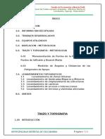 1.Informe Trazo y Topografia