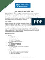 DifferentialScanningCalorimetryDSC-2