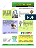 Charlas de 5 Min Medio Ambiente - Tema 9