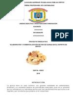 Proyecto de Pan