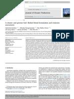 A Cleaner and Greener Fuel Biofuel Blend Formulation and Emission
