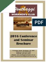 Conf Seminar Brochure 2016