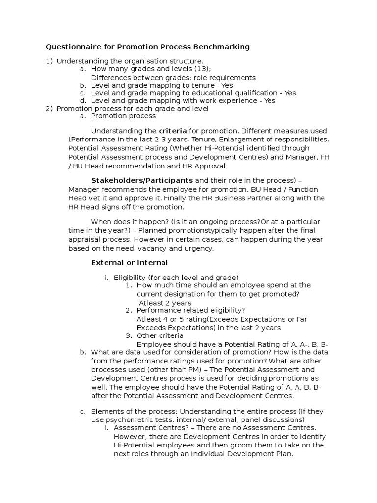 ABG Benchmarking Questions | Talent Management | Employment