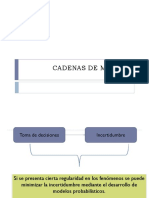 Clase 1 - Cadenas de Markov