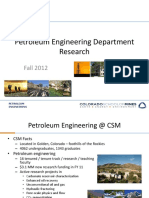 PE Research Fall 2012