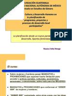 Genero_desarrollo y Derechos Humanos Enfoques Para La Planificación