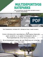 Presentacion -Proyecto Skatepark Para Su Distrito 2007
