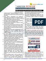 November 2016 the Hindu Review Ctet
