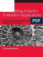 Embedding Analytics in Modern Applications
