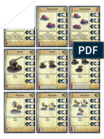 Frostgrave Cards
