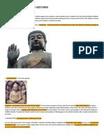 Buddhist Mudras - Hand Gestures