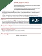 Dermatite Atopique del'Enfant