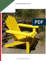 WWMM Adirondack Chair