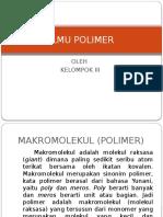 ILMU POLIMER