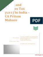 GST Revised Model Law Hand Book 4th Edn CA Pritam Mahure