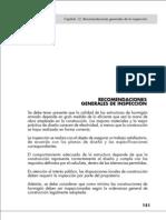 Capítulo 12 - Recomendaciones generales de la inspeccion