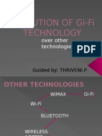 Evolution of Gi-fi