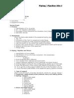 Site survey requirement